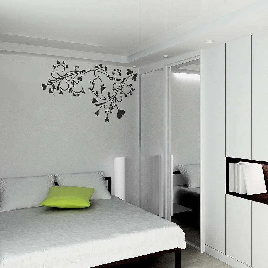 baroque flower wall sticker by spin collective