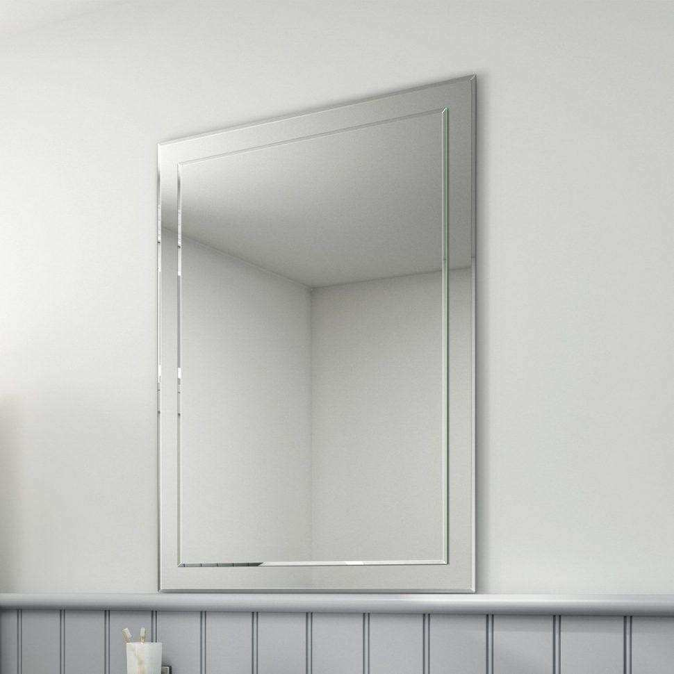 20 Ideas of No Frame Wall Mirrors