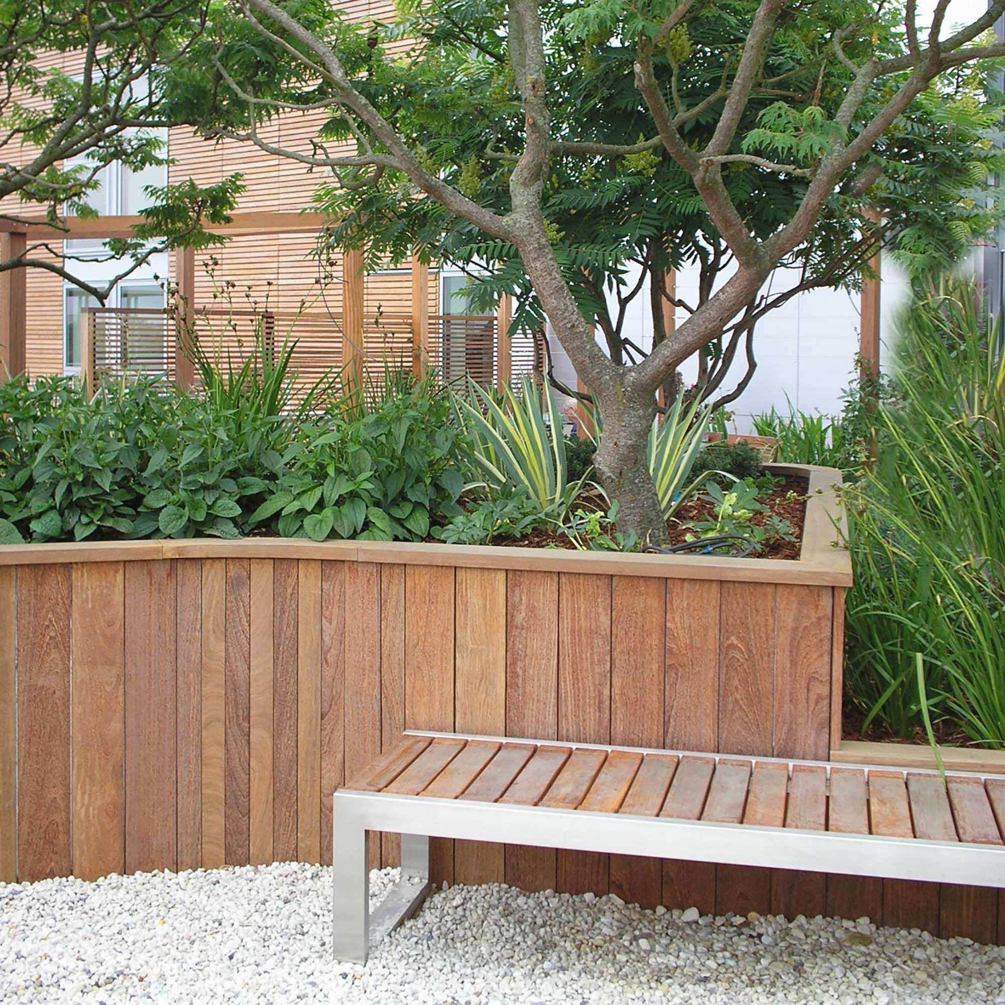 Timber Retaining Wall System – Woodscape