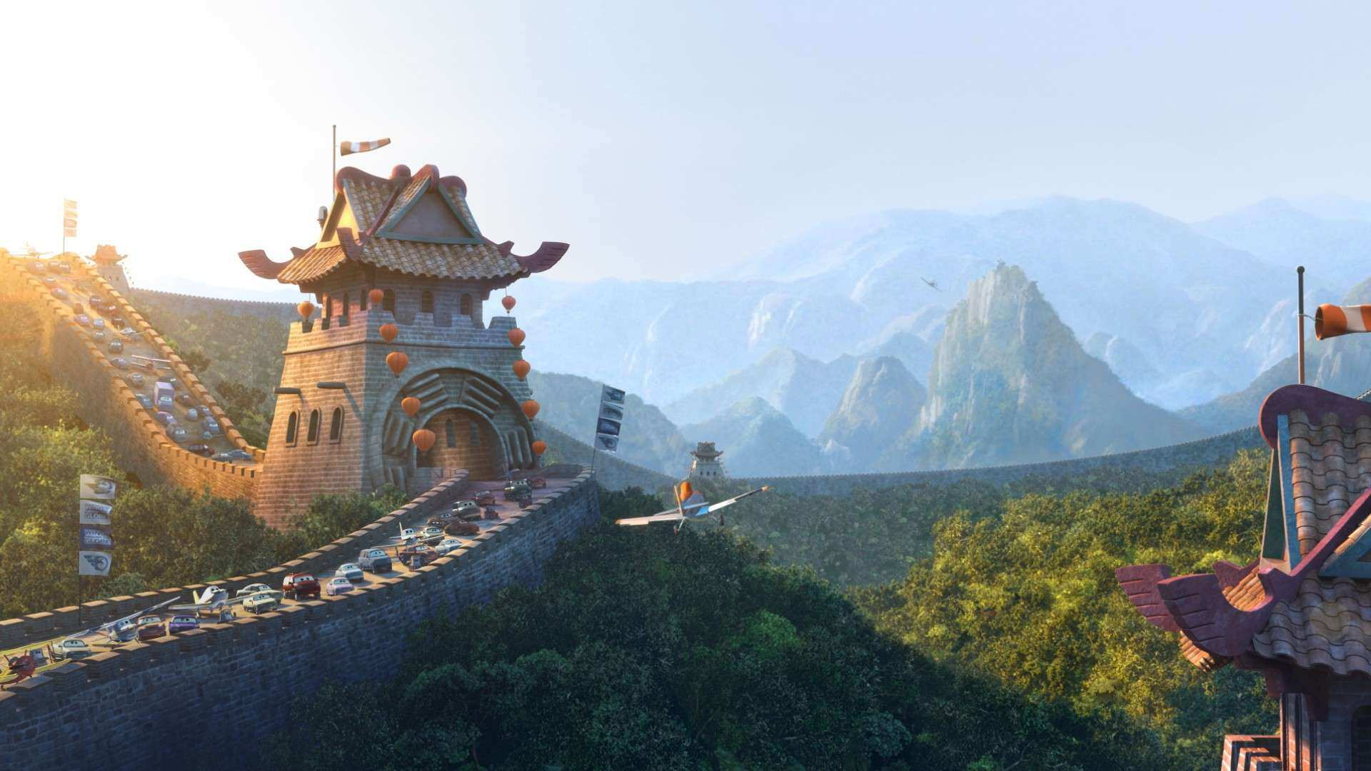 Great Wall of China Planes Wiki