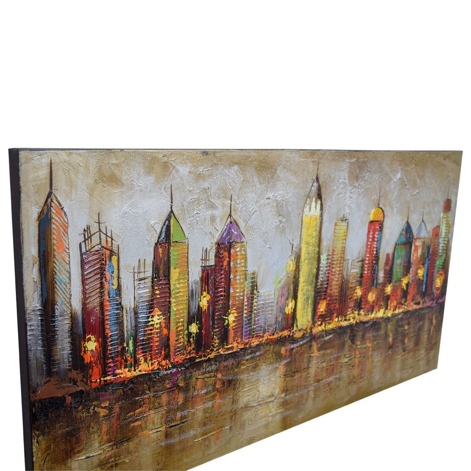 Pier One Imports Wall Decor Inspirational Off 1 Cityscape Painting