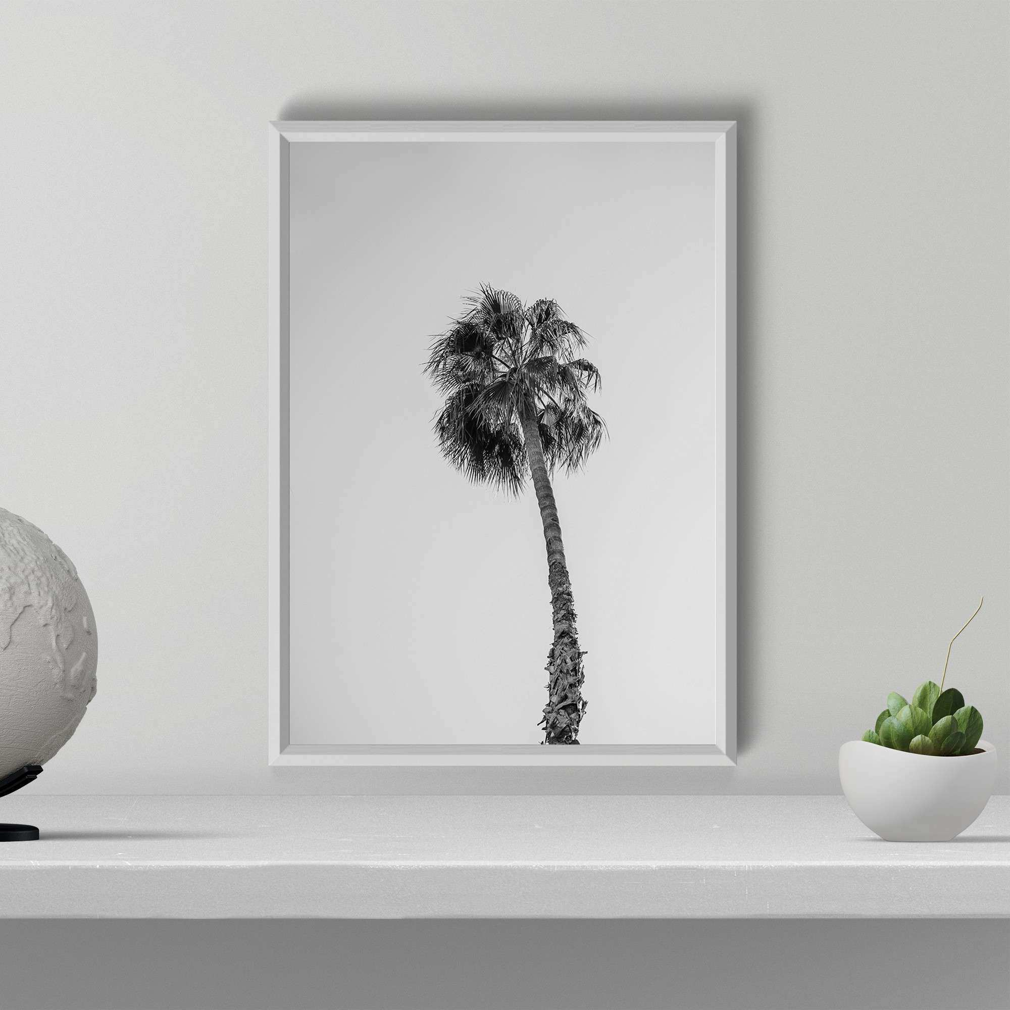 Palm Tree Print wallartaddict