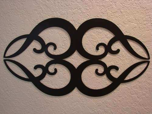 Heart Plasma Cut Metal Ornamental Wall Art