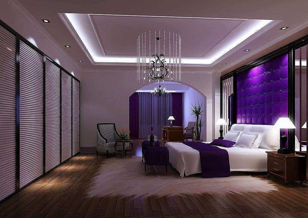 Free Download Image Elegant Purple Wall Decor for Bedrooms ...