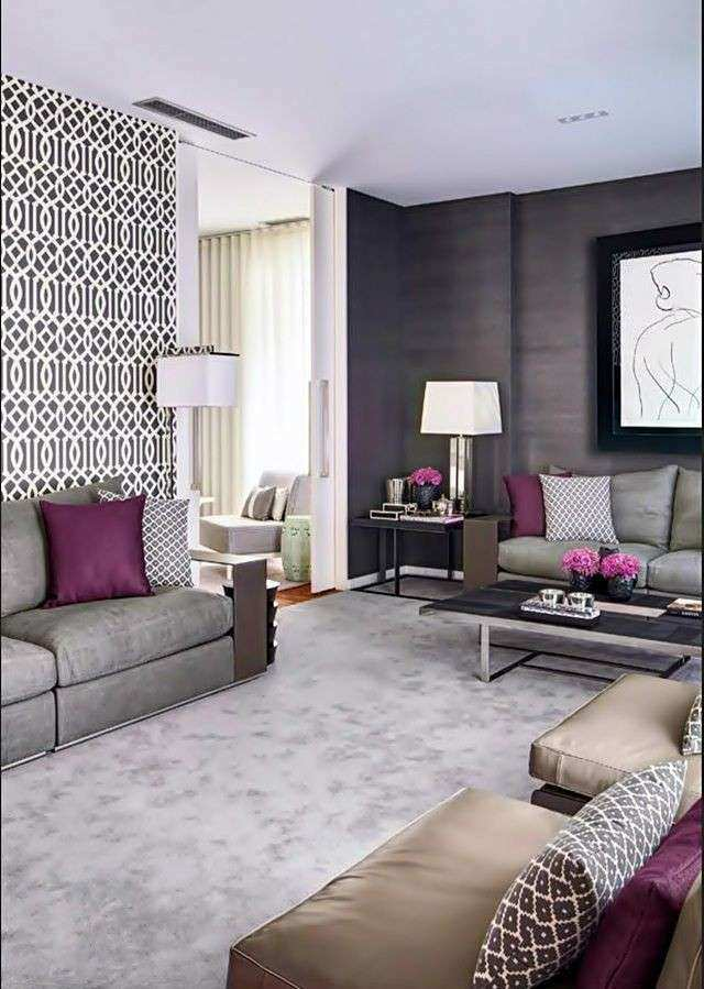 Purple Wall Decor Living Room Beautiful 1000 Images About Accents On