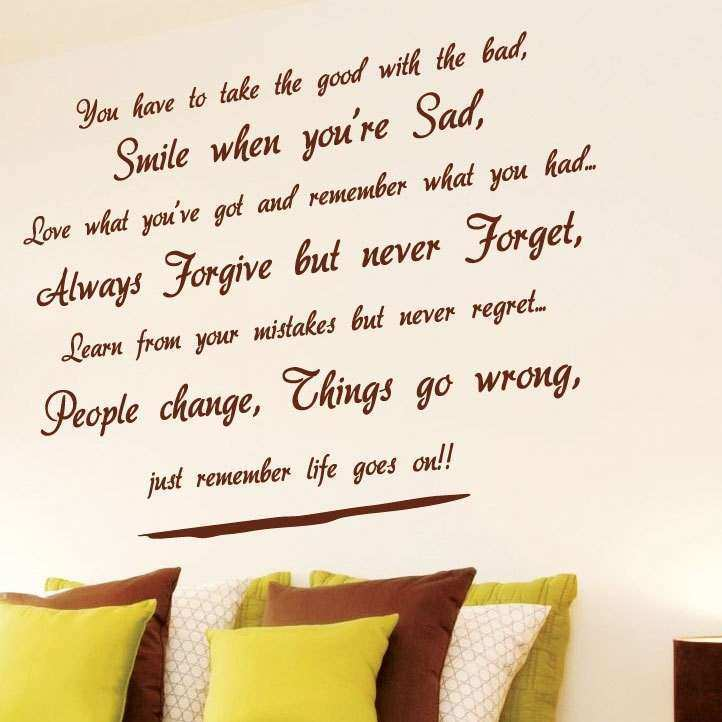 Wall Art Quotes QuotesGram