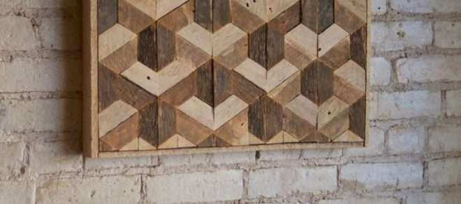 Reclaimed Wood Art Wall Unique Reclaimed Wood Wall Art Decor Lath ...