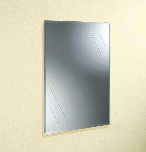 Rectangular Room Wall Decorative Glass Mirrors Custom