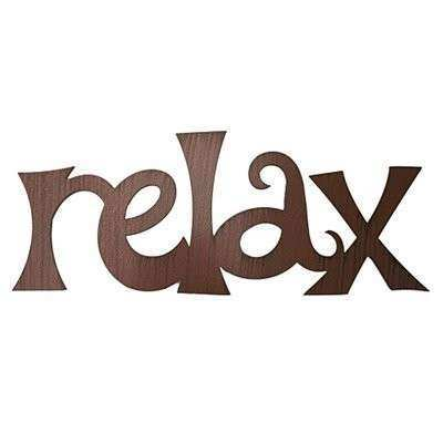 ASAP Words DM200 Relax Metal Wall Art