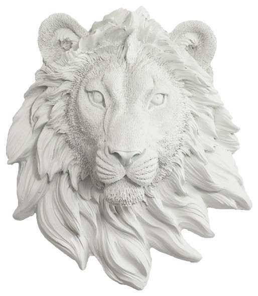 Wall Charmers Lion Mini in White