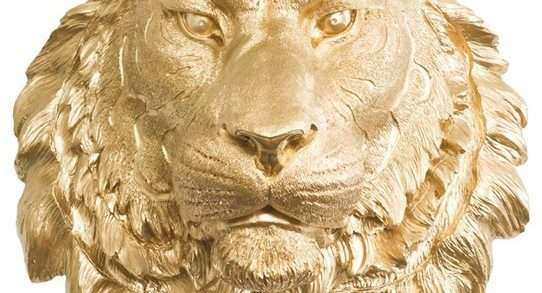 Resin Animal Heads Wall Art Luxury Wall Charmers Tiger In Gold ...