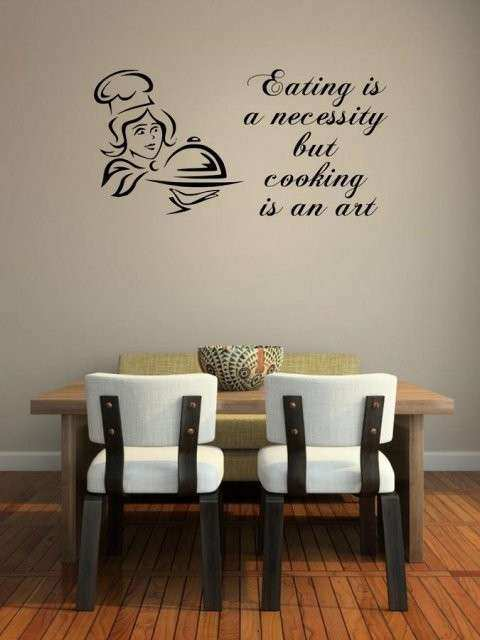 Restaurant Wall Decor Best Of Jc Design Eating is A Necessity but ...