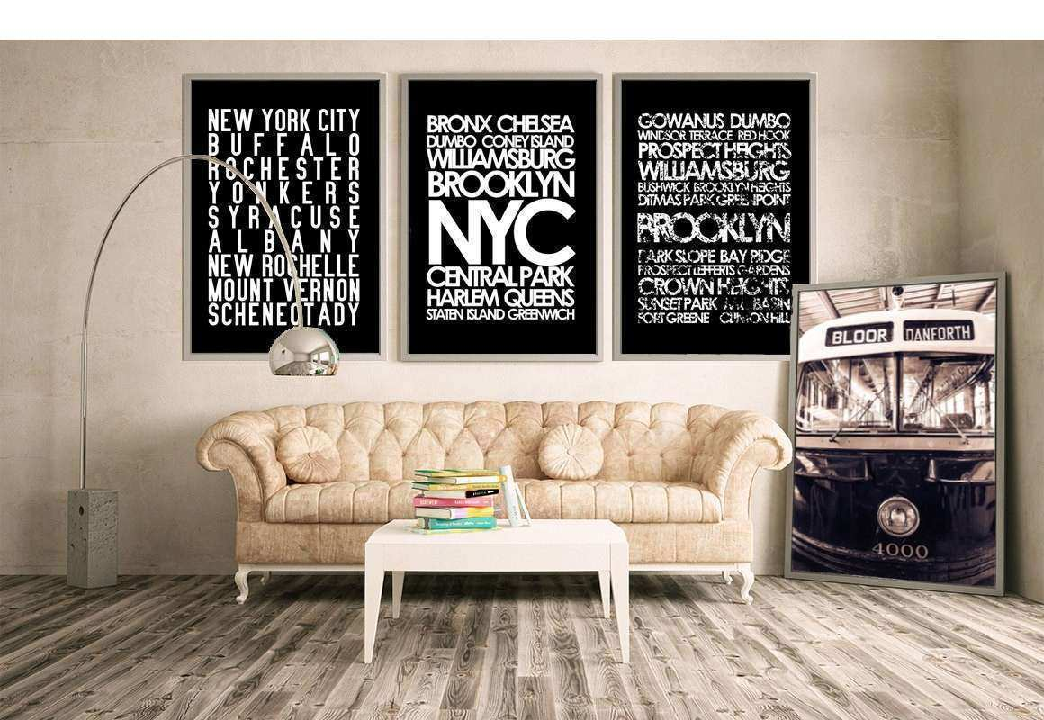 Superior Restoration Hardware Wall Art Fresh Restoration Hardware Style New York  City Wall Art Nyc Subway