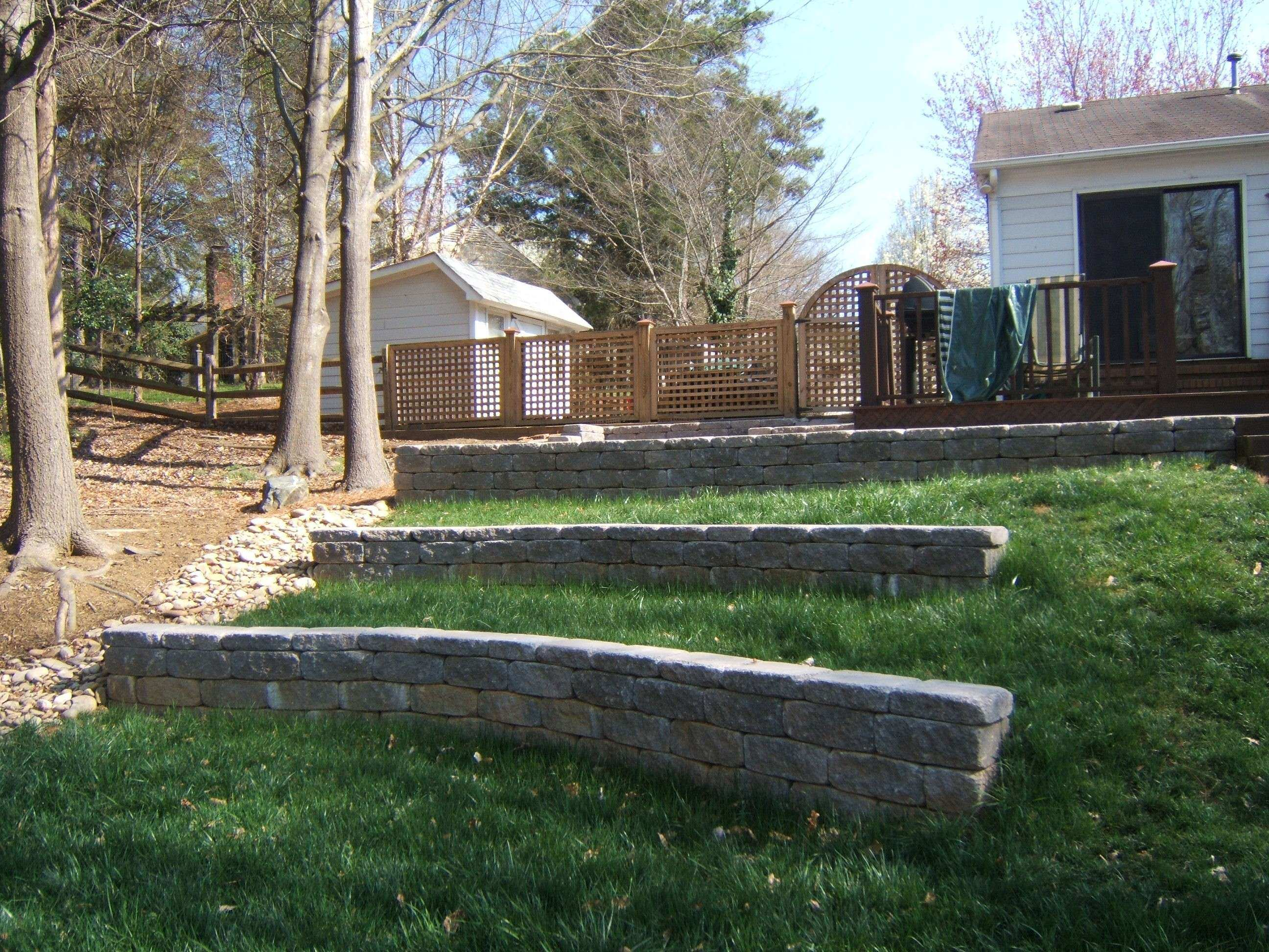 Retaining Wall Designs Withal Siloam Stone Retaining Walls