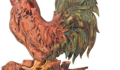 Rooster Wall Decor Beautiful Carved Wood Wall Decor Rooster Regal Art & Gift