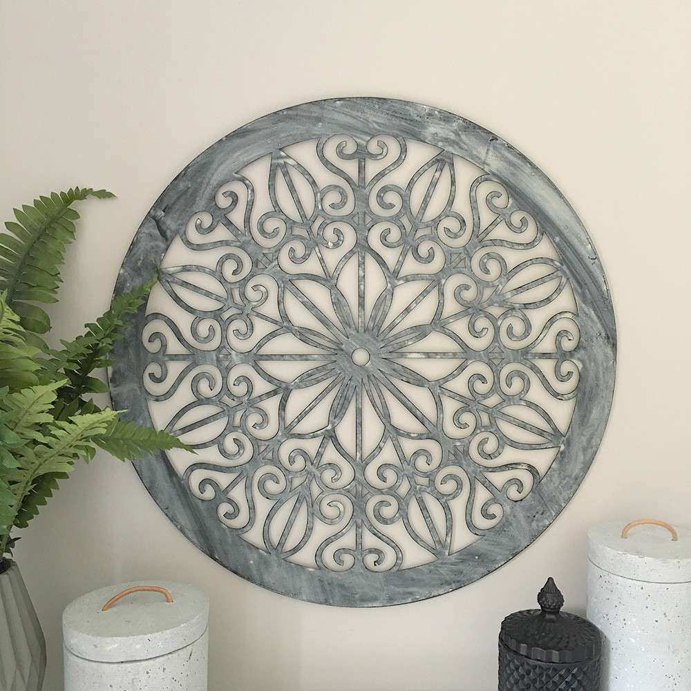 Decorative Round Wall Panel Humble Home