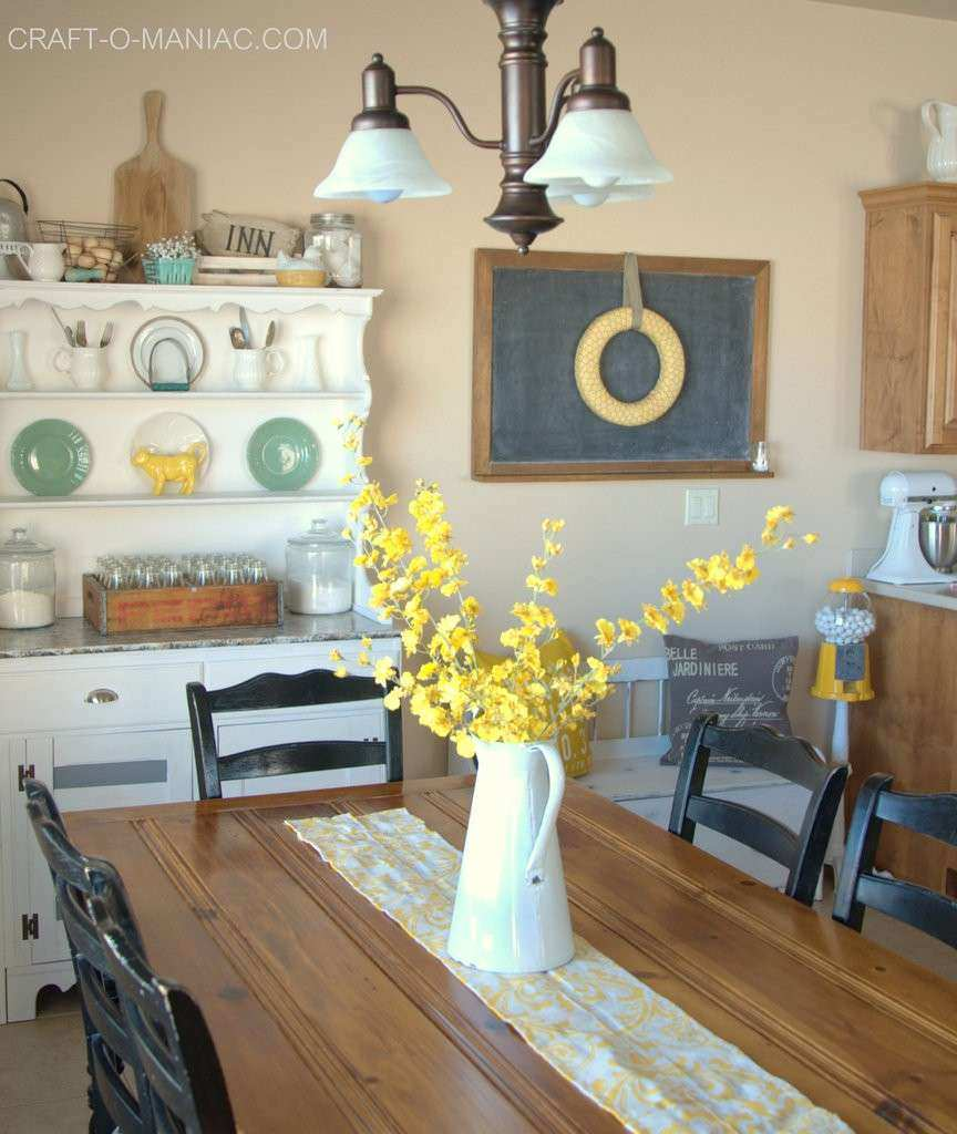 Rustic Kitchen Wall Decor Luxury Rustic Farm Chic Kitchen Decor With  Vintage Items