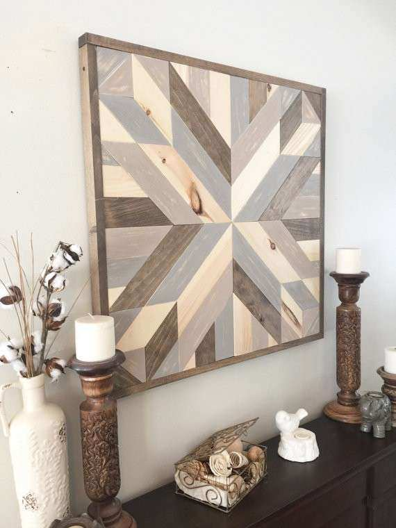 Rustic Star Wall Decor Awesome Reclaimed Wood Wall Art Rustic Wall Decor Rustic Barn Star
