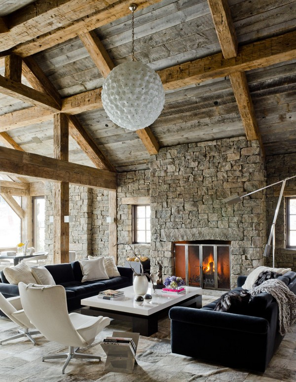 Defining Elements The Modern Rustic Home