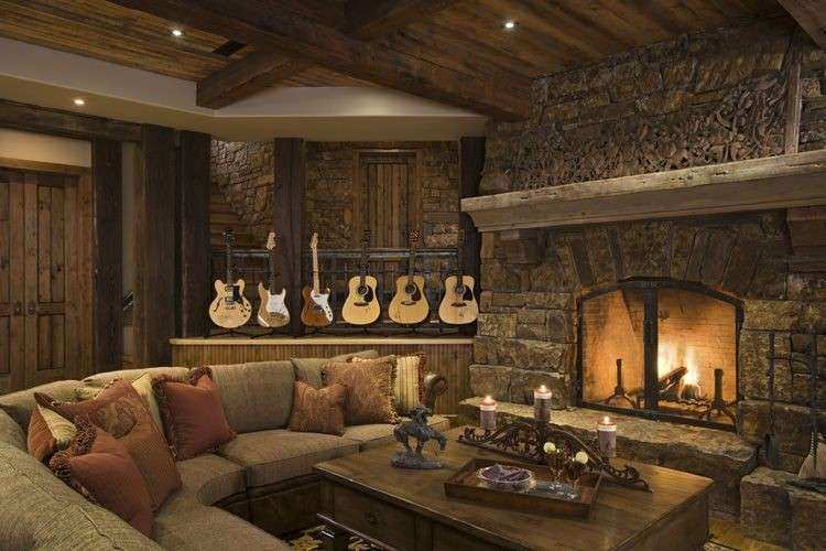 Rustic House Design in Western Style tario Residence