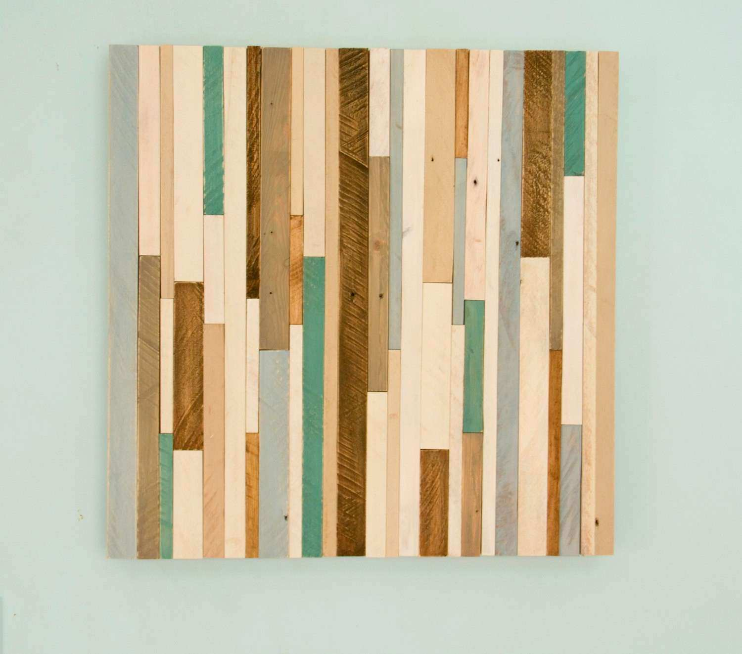 "Rustic wood Wall Art reclaimed wood decor 20"" x 20"