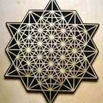 Sacred Geometry Wall Art Luxury 64 Sided Tetrahedron Wall Art Sacred Geometry Laser Cut Art Of Sacred Geometry Wall Art