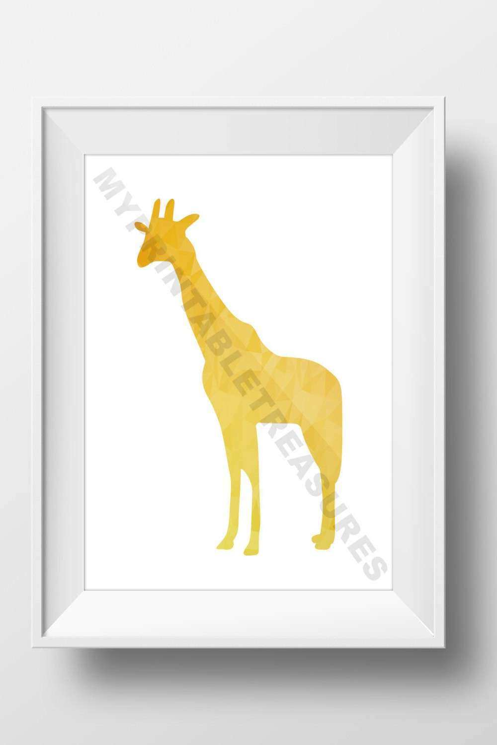 Safari Nursery Wall Decor New Safari Nursery Art Giraffe Wall Decor ...