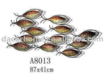 Schools Fish Metal Wall Decor Buy Wall Decor Home