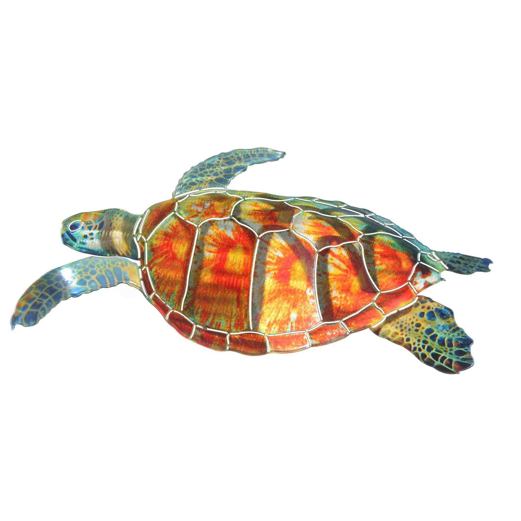 Next Innovations Sea Turtle Metal Wall Décor & Reviews