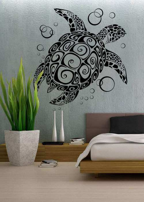 Sea Turtle Wall Decor Best Of Uber Decals Decal Vinyl Art By