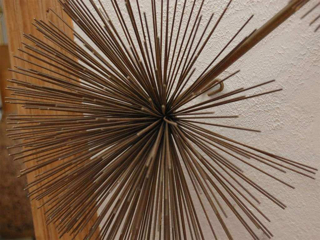 """SEA URCHIN"" Wall sculpture by Jere at 1stdibs"