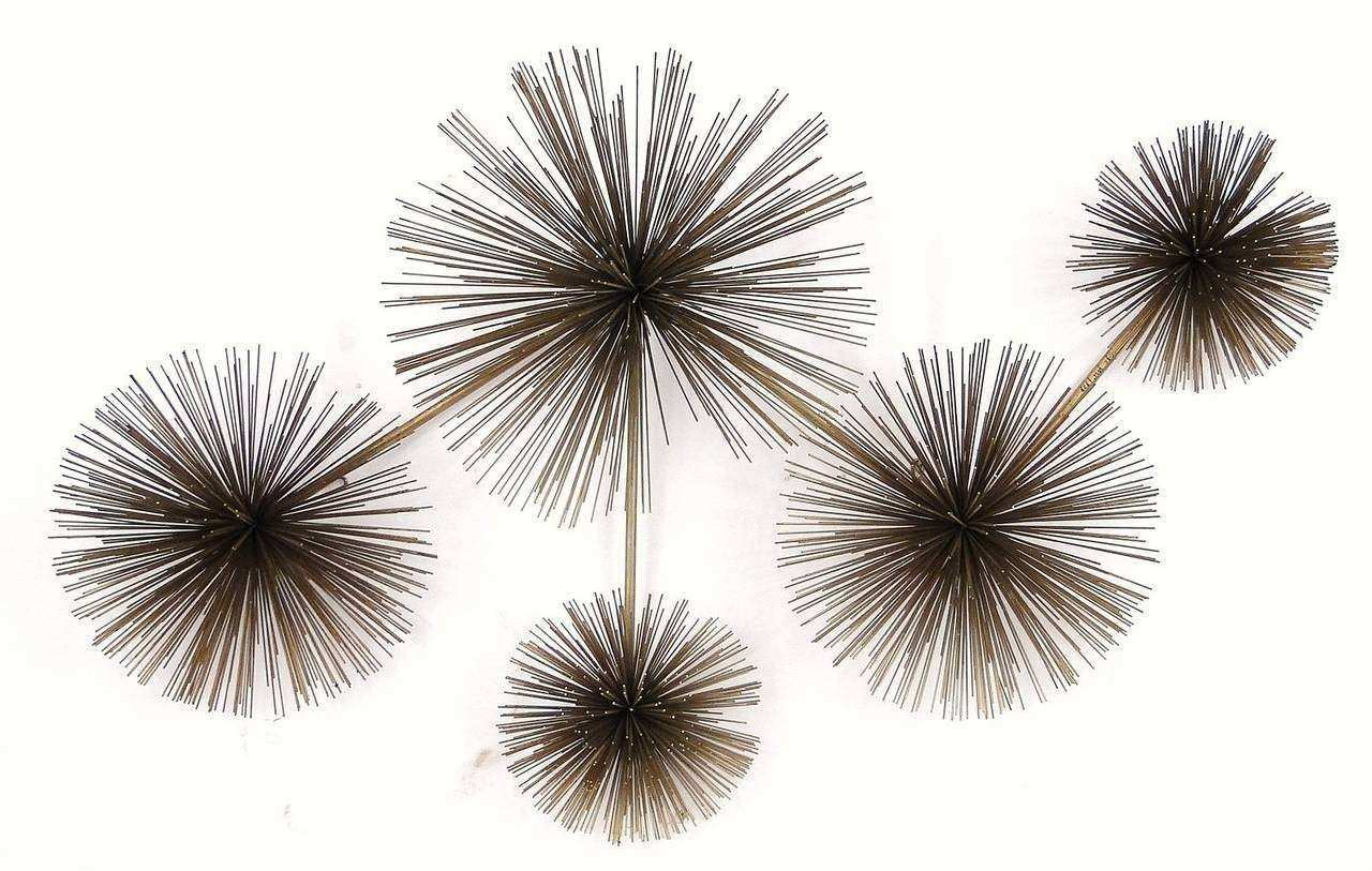 "Midcentury Curtis Jere ""Pom Pom"" or Sea ""Urchin"" Wall"