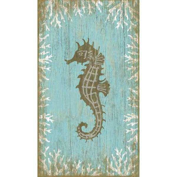 Seahorses Wall Decor Fresh Seahorse Left Wall Art
