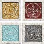 New Set Of 4 Wall Decor