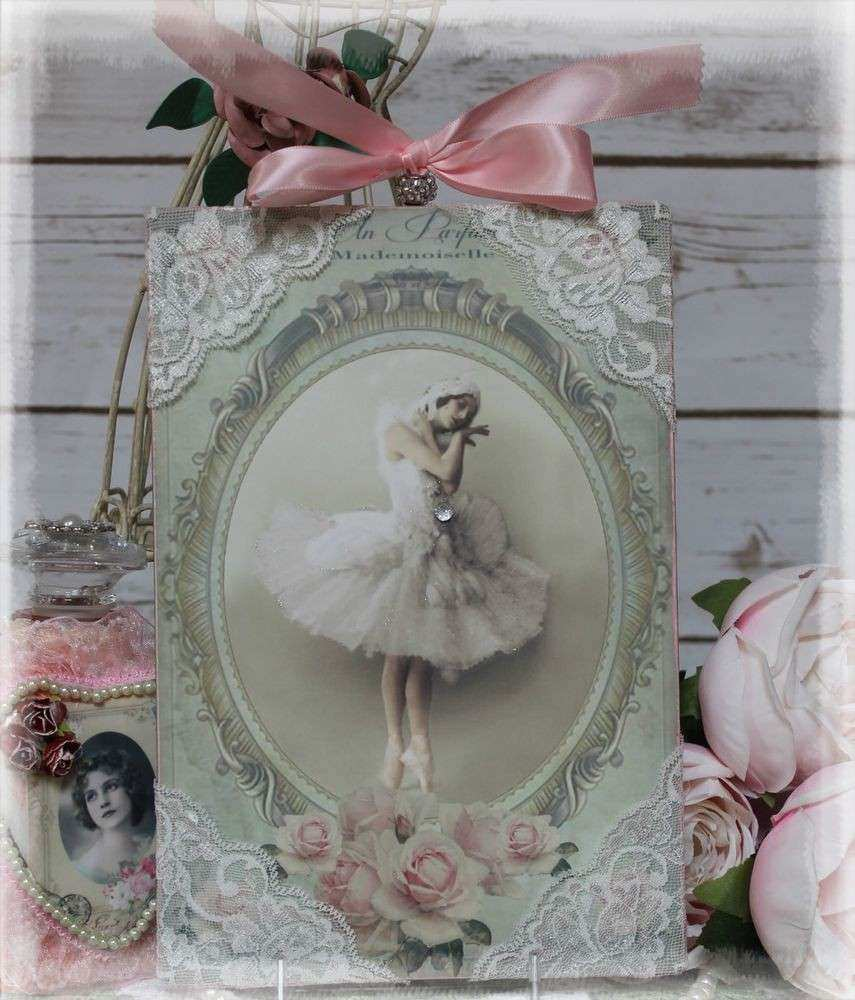 """Vintage """"Mademoiselle """" Shabby Chic Style Country"""