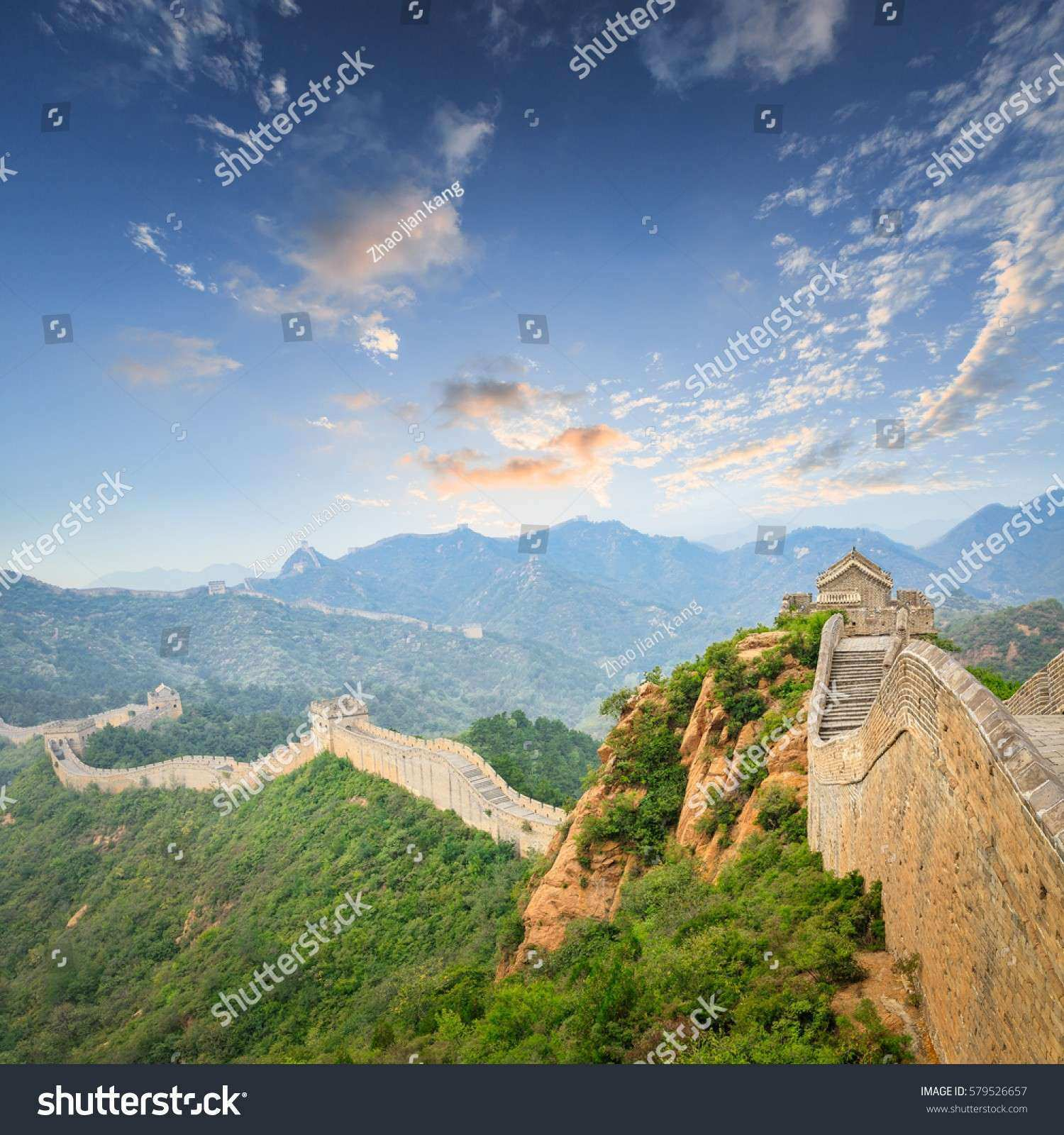 Beautiful Spectacular Great Wall China Stock