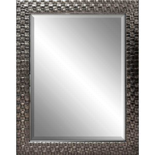 Square Framed Decorative Wall Mirror 22 x 28 inches