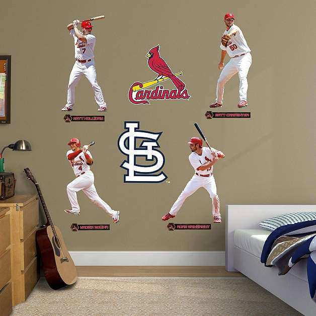 St Louis Cardinals Wall Decor Unique St Louis Cardinals Power Pack ...
