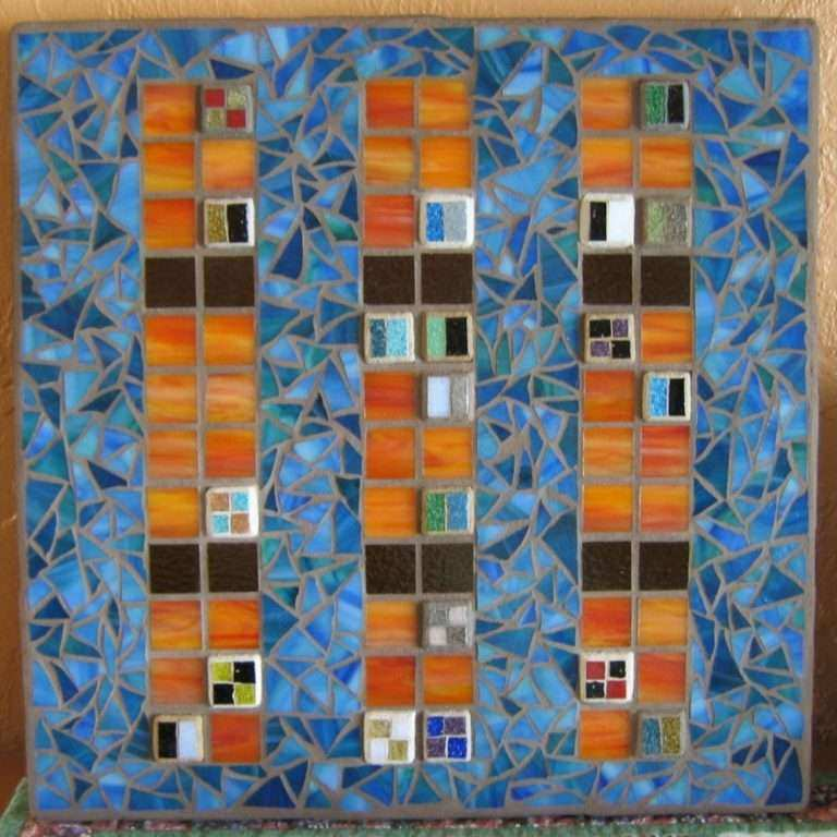 Stained Glass Wall Art Unique Contemporary Stained Glass Mosaic Wall ...