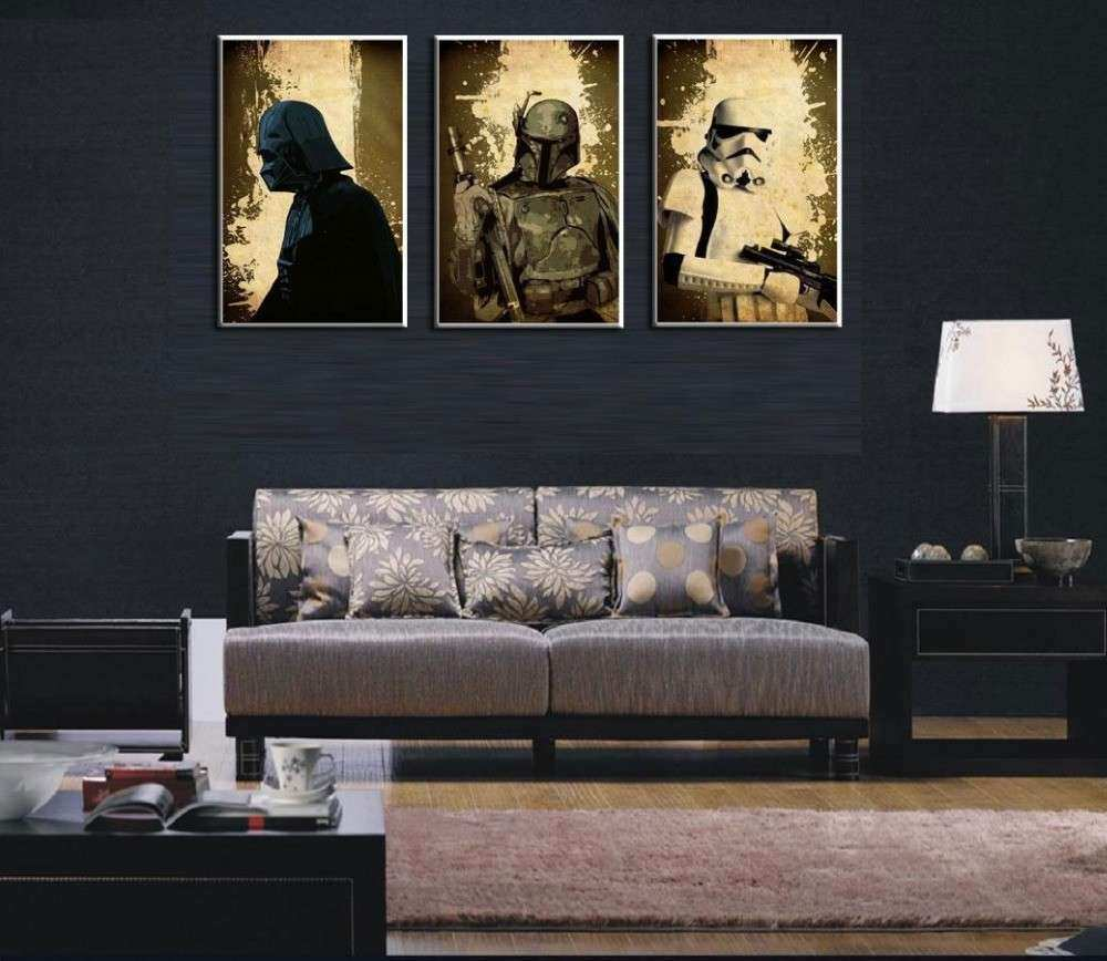 Star Wars Wall Decor Fresh Modern Huge Wall Art Oil Painting On