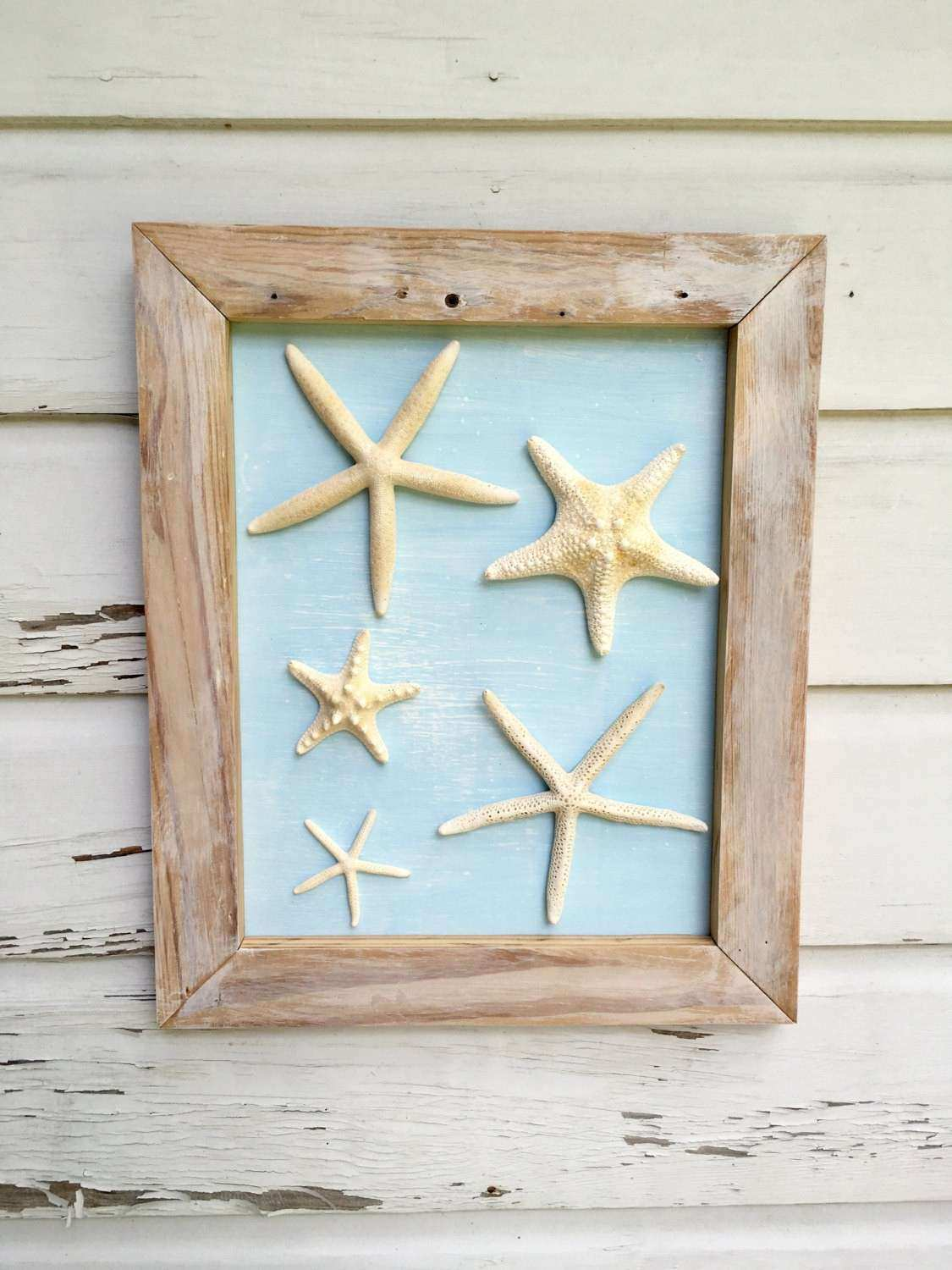 Starfish Wall Decor Best Of Framed Art Reclaimed Wood Beach House