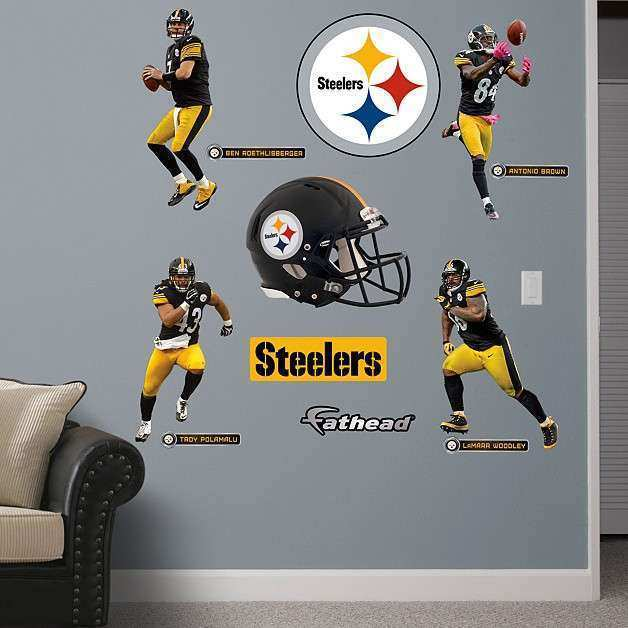 Steelers Wall Decor Fresh Shop Pittsburgh Steelers Wall Decals u0026&; Graphics & Steelers Wall Decor Fresh Shop Pittsburgh Steelers Wall Decals ...