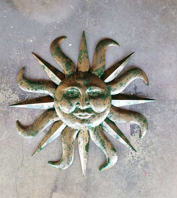Sun Wall Decor Outdoor Best Of Metal Garden Decor Garden Decor Metal Sun  Sun Wall Art