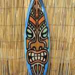 Surfboard Wall Decor Fresh Decorative Wooden Surfboard Wall Art Tiki God Coastal Of Surfboard Wall Decor