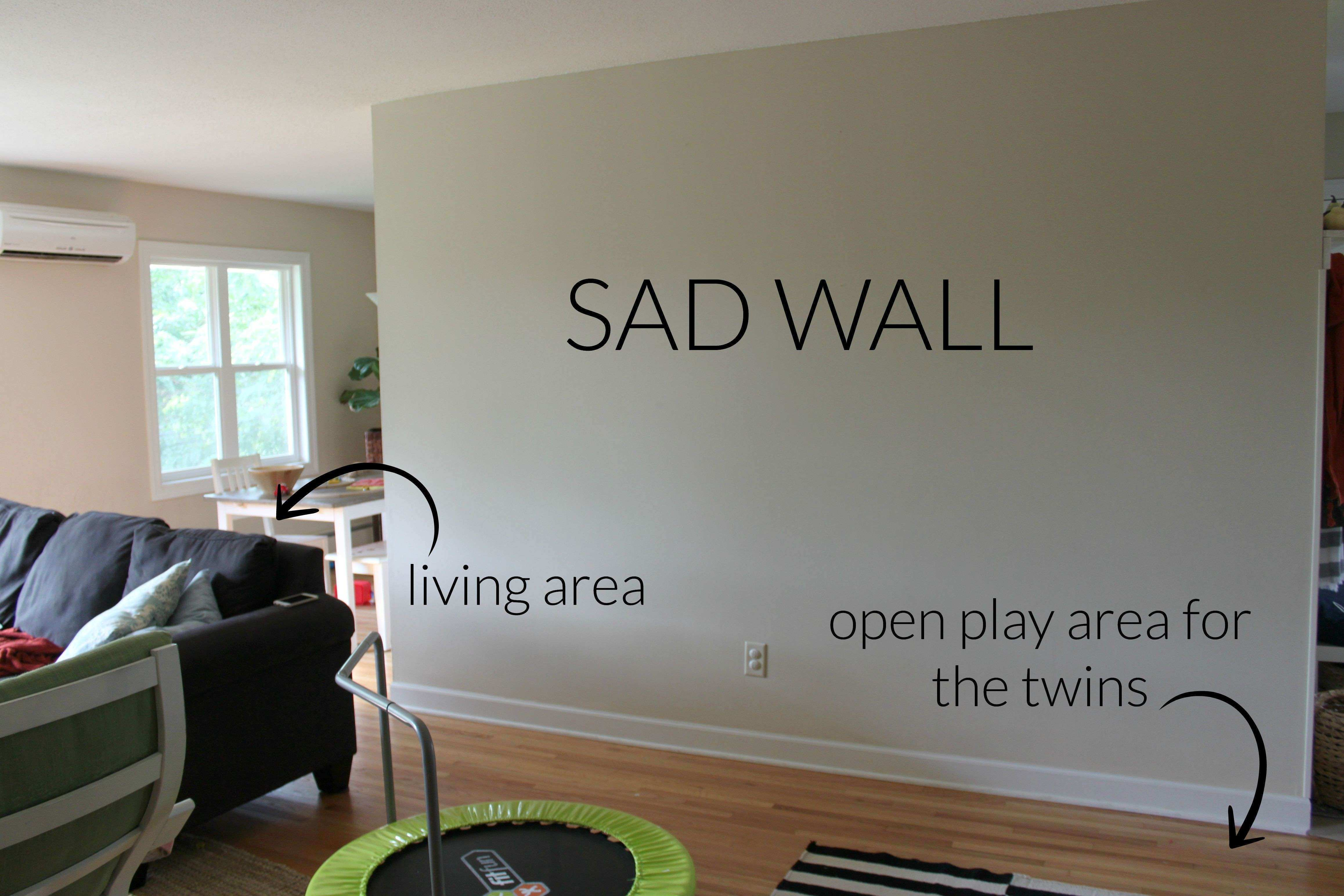 Creating A No mitment Gallery Wall The Crazy Craft Lady