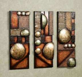 Brown Metal Wall Art Foter