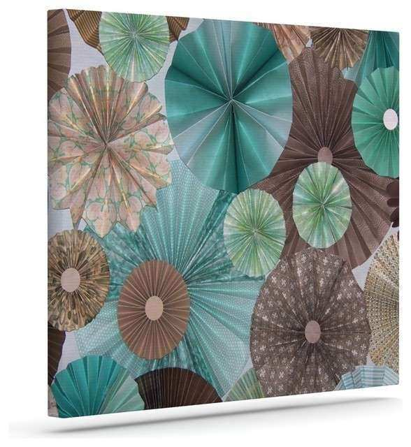 Extraordinary 70 Teal And Brown Wall Art Design