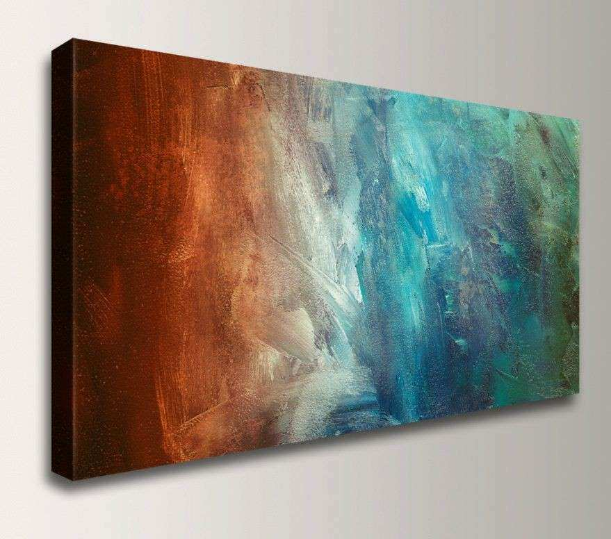 Panoramic Art Abstract Painting Reproduction Canvas