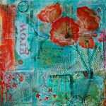 Lovely Teal and orange Wall Art