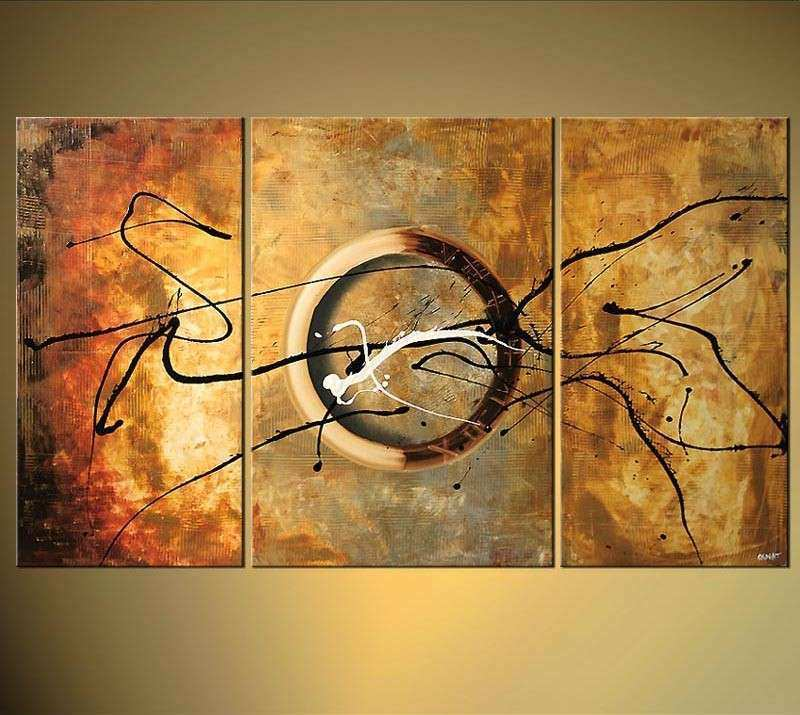 Three Piece Wall Art Best Of Wall Art Design 3 Piece Abstract Wall ...